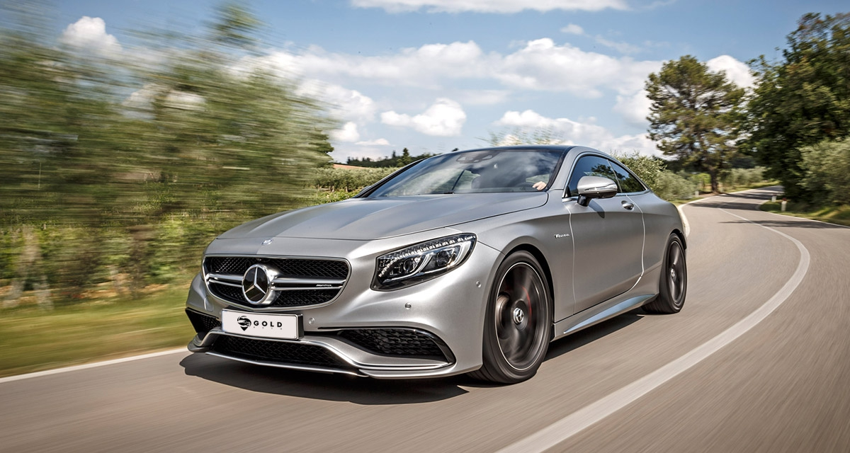 Mercedes S 500 AMG Coupe - Full extra